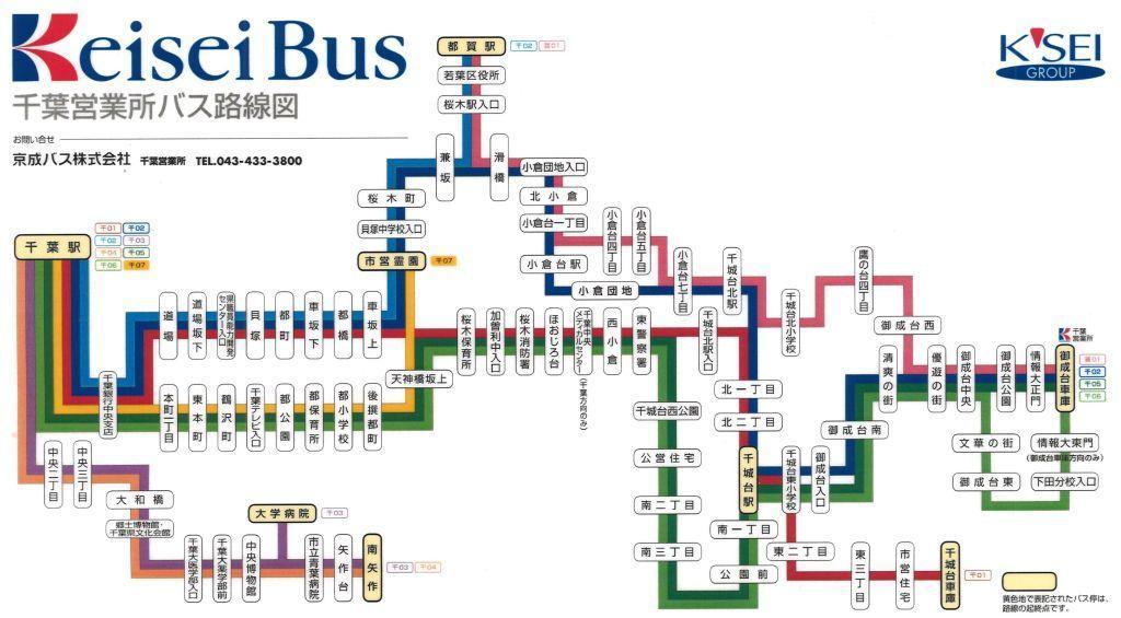 路線図 千葉 東京